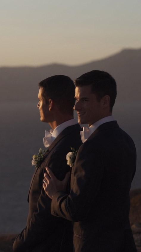mykonos same sex wedding